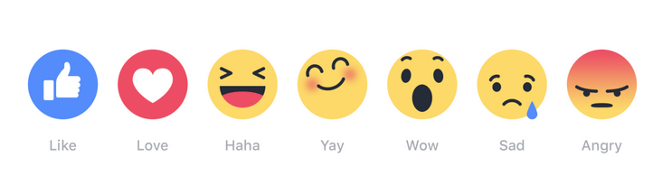 new facebook emojis